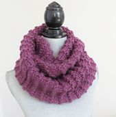 Distant Edges Infinity Scarf/Cowl   by Mockingbird Knits