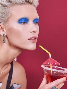 Glitter & Caviar: um editorial de beleza para comer com os olhos  (Foto: Fernando Gomez)