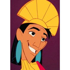 Your Guide To Disney's 50 Animated Features | 40. The Emperor's New Groove | Empire | www.empireonline.com found on Polyvore