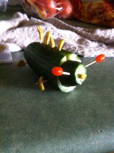 Fancy cucumber bug