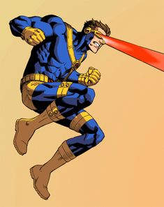 ANIMATED - Cyclops of the X-Men / Marvel Comics