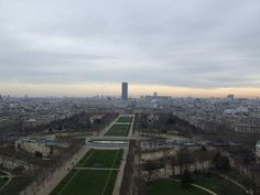 A+view+from+the+Eiffel+Tower