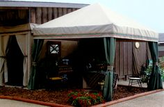 Equitex - Custom Stall Drapes, Awnings And Horse Show Accessories
