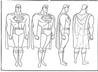 Superman turnaround  Flashback Universe Blog: Pierre Speaks: Animation 4 - Design