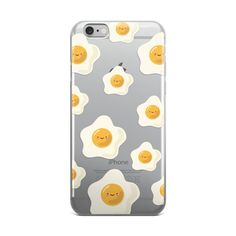Sunny Side Up Egg Pattern TPU iPhone Case - iPhone 6 Plus / 6s Plus