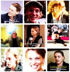 Jamie Campbell Bower. He literally makes me smile every time I see him. So funny And I am obsessed with his music. He is my love in life and he is amazing!