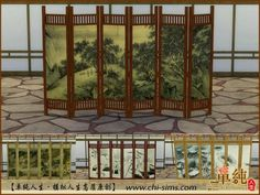 Chi-sims: Chinese Screen • Sims 4 Downloads