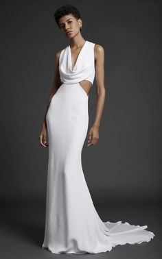 Get inspired and discover Cushnie Bridal trunkshow! Shop the latest Cushnie Bridal collection at Moda Operandi. Black Wedding Dresses, Wedding Suits, Designer Wedding Dresses, Black Bride, Plus Size Wedding, Ladies Dress Design, Bridal Collection, Bridal Style, Dress Outfits