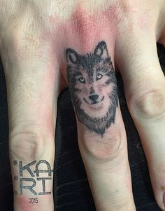 Wolf Tattoos for Men Toe Tattoos, Hand Tattoos, Wolf Tattoos Men, Ring Finger Tattoos, Black Tattoos, Body Art Tattoos, Tattoos For Women, Tattoos For Guys, Tatoos