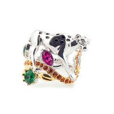 Leopard Ring by Bill Skinner