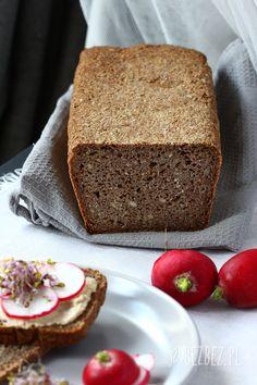 Razowy chleb bezglutenowy Vanilla Cake, Bread, Food, Brot, Essen, Baking, Meals, Breads, Buns