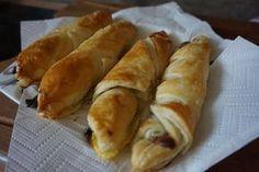 Rezept Kinder Riegel Croissants aus Blaetterteig