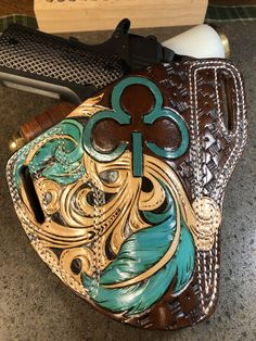 9mm Holster, Pocket Holster, Leather Holster, Holsters, Ruger 1911, Ruger Lcp, M&p Shield, Leather Craft Tools, Branding Iron