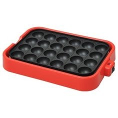 Electric Takoyaki Pan Pancake Puffs - 24 molds >>> New offers awaiting you : Baking pans Japanese Street Food, Japanese Food, Japanese Recipes, Takoyaki Pan, Puff Pancake, Japanese Pancake, Reduce Thigh Fat, Cupcake Pans, Pan Sizes