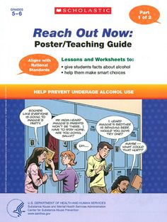 Help Prevent Underage Drinking Kit: Teaching Guide and Poster, Bonus Worksheets, and Family Guide