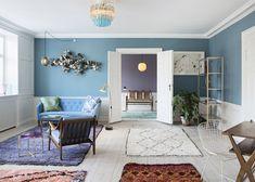 Mix and match rugs. The Apartment Copenhagen | Tina Seidenfaden Busck | Est Magazine