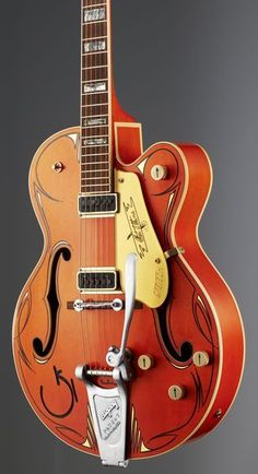 Gretsch G6120 Custom Pin Stripe, Limited one of a kind, electric guitar, Masterbuild by Stephen Stern #gretsch #guitar #thomann