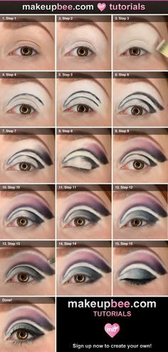 Dramatic crease tutorial