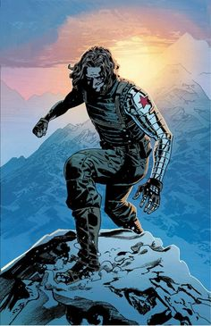 BUCKY Yes, I'm total Bucky! I'll admit I only really started to love him after seeing Captain America: The Winter Soldier, but since then I've read some of his comics and I just adore him. Marvel Vs, Bucky Barnes Marvel, Marvel Avengers Comics, Marvel Fan Art, Marvel Heroes, Marvel Characters, Fictional Characters, Comic Kunst, Comic Art