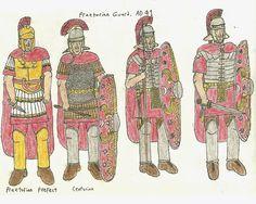 Imagini pentru praetorian guard army