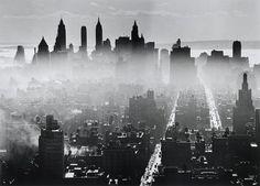 Lower Manhattan, New York City, 1941. By Andreas Feininger