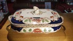 Antique Gater Hall Pottery, Burslem Vegetable Tureen. c1899-1907 - Artmosphere Antiques Battlesbridge Essex