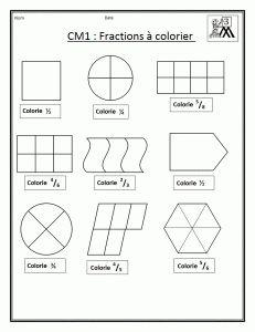 Fiches sur les fractionsAT CM1