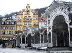 Karlovy Vary, Kolonade, Western Bohemia
