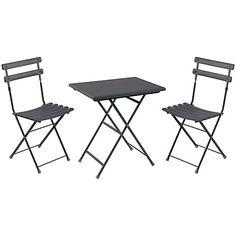 EMU Arc en Ciel 2 Seater Square Outdoor Furniture Set