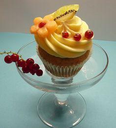 Fruit cupcake, via Flickr.