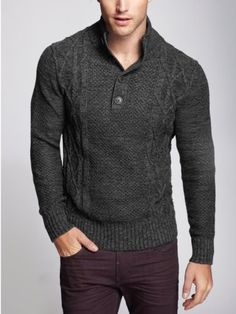GUESS Men\u0027s Dawson Long,Sleeve Mock Neck Sweater. 100,percent,