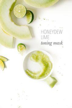 Honeydew Lime Toning Mask Recipe