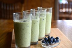 Begin your next Weekend at the Cottage and make this SUPER SMOOTHIE recipe loaded with fruit and vegetables bursting with antioxidants, fibre and vitamins!