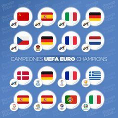 Euro, Champions League, Soccer, Football, Collection, Champs, Storage, Futbol, Futbol