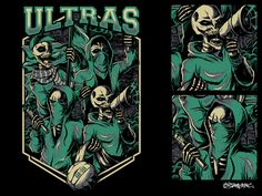 Ultras Football Supporter