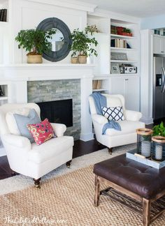 White Furniture | The Lilypad Cottage