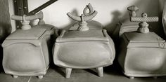 Picture of Daniel Oliver pot belly boxes - wonderful!
