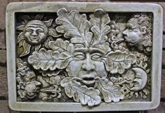 Anvindr green man sculpture