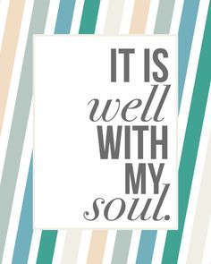 It is Well 8x10 print by NaptimeDiaries on Etsy, $12.00