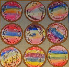 Spring Art, Spring Crafts, Painting For Kids, Art For Kids, Art Activities For Kids, School Art Projects, Kindergarten Art, Easter Crafts For Kids, Art Classroom