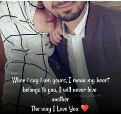 Pin by Altamash khan on Love quotes Muslim Couple Quotes, Muslim Love Quotes, Cute Muslim Couples, Love In Islam, Islamic Love Quotes, Islamic Inspirational Quotes, Military Couples, Husband And Wife Love, Love Husband Quotes
