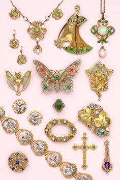 art Nouveau Jewelry at Nelson Rarities, Inc
