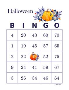 Halloween Bingo Cards, 1000 cards, 1 per page, immediate pdf download, watercolor pumpkins Halloween Bingo Cards, Christmas Bingo Game, Fun Christmas Party Games, Christmas Fun, Bingo Card Maker, Custom Bingo Cards, Bingo Calls, Bingo Patterns, Christmas Traditions