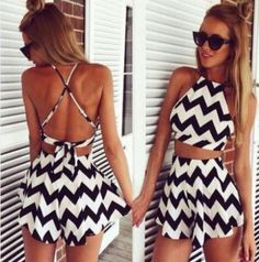 Black & White 2 piece