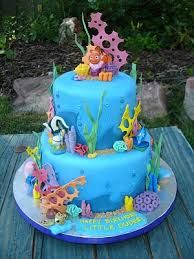 Související obrázek Fondant Cakes, Cupcake Cakes, Cupcakes, Finding Nemo Cake, Finding Dory, Bolo Musical, Foto Pastel, Ocean Cakes, Mermaid Cakes