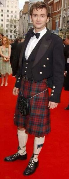 Is that a kilt doc? Awesome