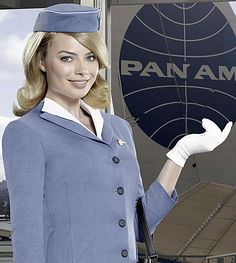 Margot Robbie in Pan Am.