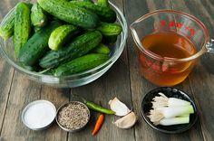 Let the pickling begin!