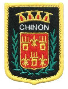 Ecusson ville Chinon