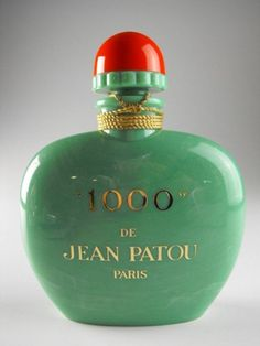 1000 by Jean Patou for Women Edp . This perfume is indeed classified as the floral fragrance/the essence of extravagance for women. Perfume Versace, Perfume Zara, Perfume Good Girl, Best Perfume, Perfume Scents, Fragrance Parfum, Jean Patou, Perfume Calvin Klein, Perfume Collection